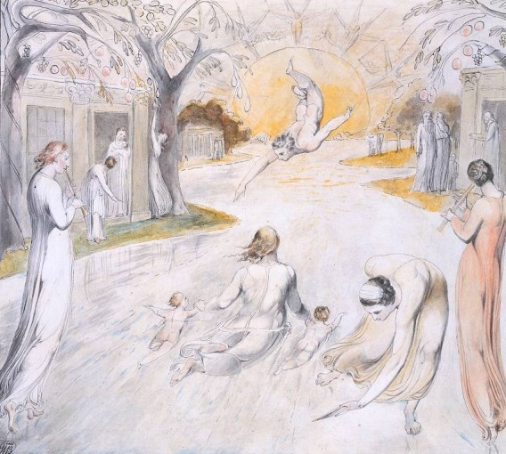 The River of Life circa 1805 by William Blake 1757-1827
